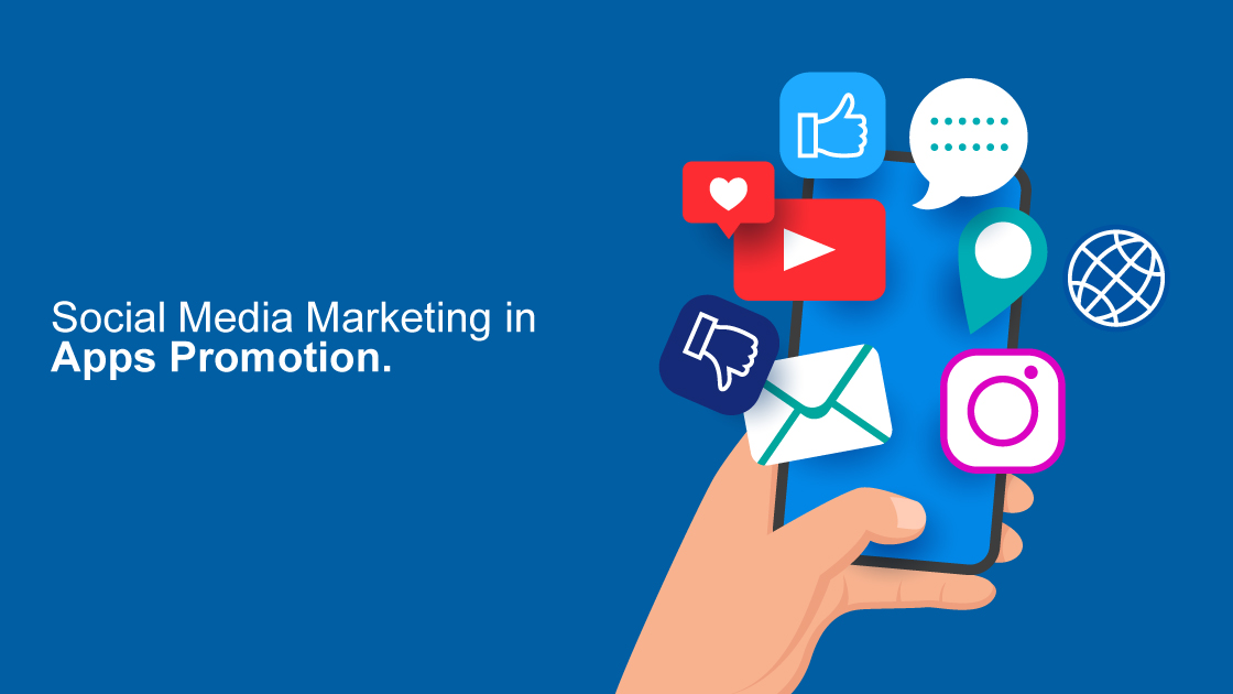 social media marketing in apps